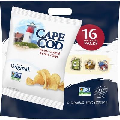 Cape Cod Original Potato Chips Multipack - 16oz