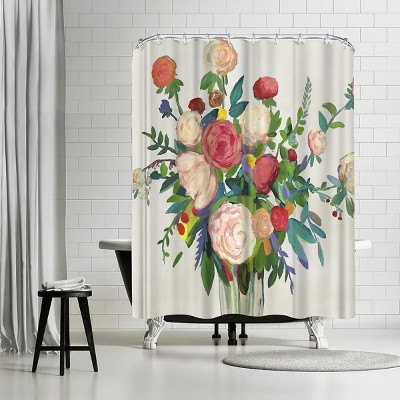 Americanflat Sunshine In Petals By Pi Creative Art 71 X 74 Shower Curtain Target