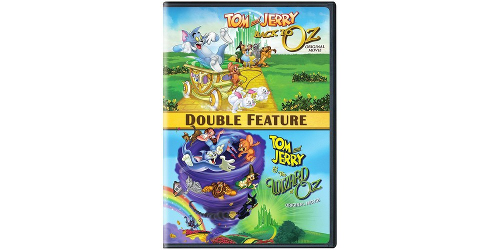 Warner Brothers Tom and Jerry: Back To Oz/Wizard Of Oz (Dvd)