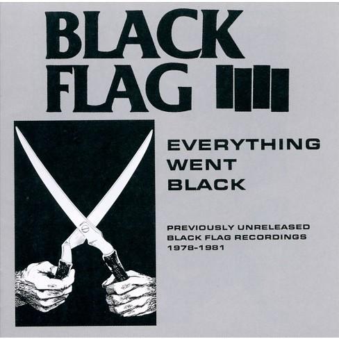 Black Flag (Punk) - Everything Went Black (CD) - image 1 of 2