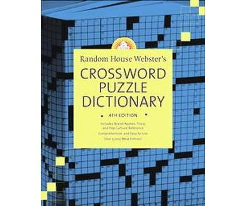 Random House Webster's Crossword Puzzle Dictionary (Hardcover) - image 1 of 1