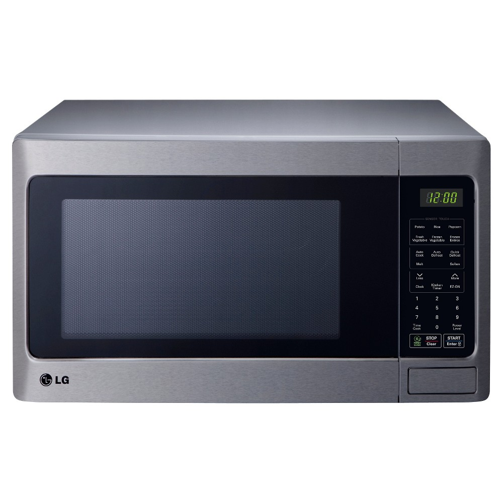 LG 1.5 Cu. Ft. 1100 Watt Microwave Oven - Stainless Steel LCRT1513ST, Silver