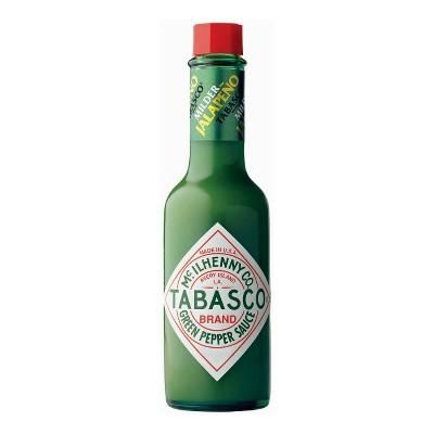McIlhenny.Co Tabasco Green Pepper Jalapeno Sauce - 5oz