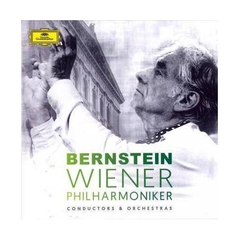 Wiener Philharmoniker - Leonard Bernstein & Wiener Philharmoniker (CD) - image 1 of 1