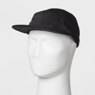 3b020413db9 Men s Flat Brim Baseball Hat - Goodfellow   Co™ Black ...