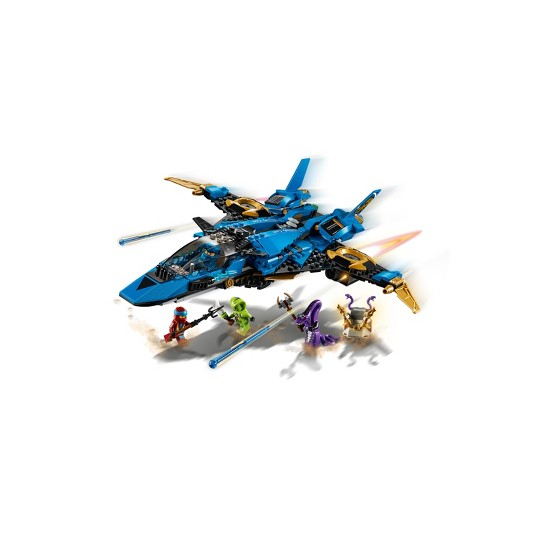 LEGO Ninjago: Masters of Spinjitzu Jay's Storm Fighter 70668 image number null