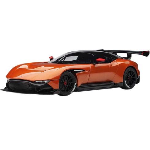 Aston Martin Vulcan Madagascar Orange With Carbon Top 1 18 Model Car By Autoart Target