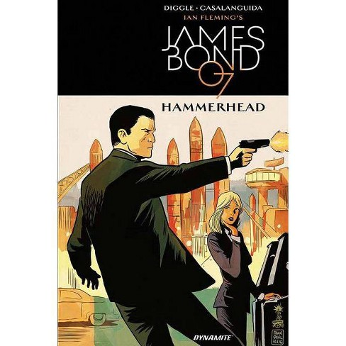 James Bond: Hammerhead - by  Andy Diggle (Hardcover) - image 1 of 1