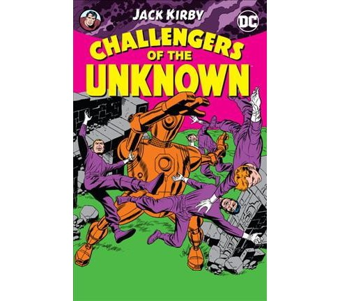 Challengers of the Unknown (Paperback) (Jack Kirby & France Herron & Dave Wood) - image 1 of 1