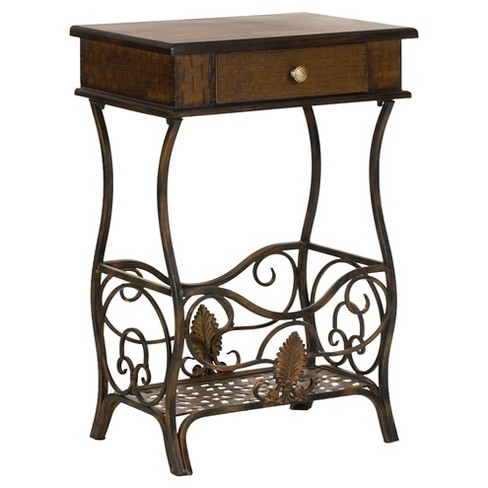 Margaret End Table With Storage Drawer - Safavieh® - image 1 of 6