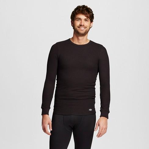 2b066eb9c1875c Dickies® - Men s Big   Tall Waffle Thermal Shirt Black XL Tall   Target