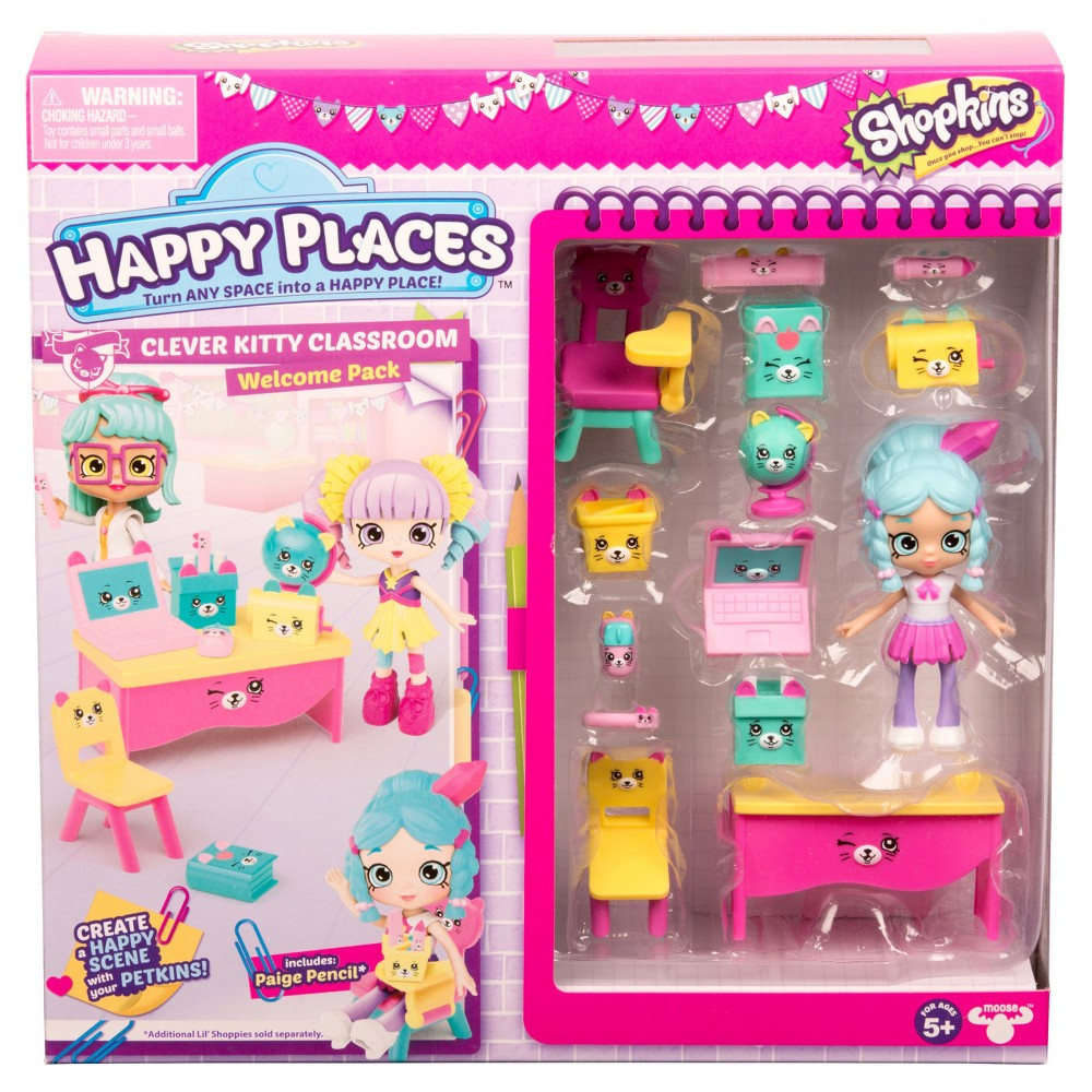 Happy Places Shopkins Welcome Pack - Clever Kitty Classroom