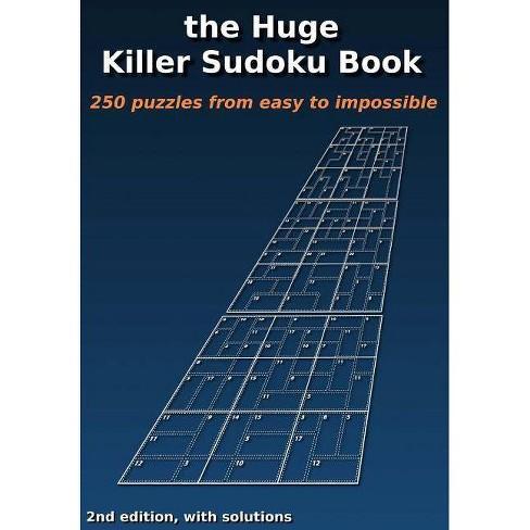 The Huge Killer Sudoku Book - By Patrick Min (Paperback