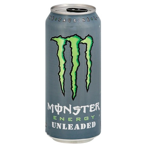 Monster Energy Unleaded 16 Fl Oz Can Target