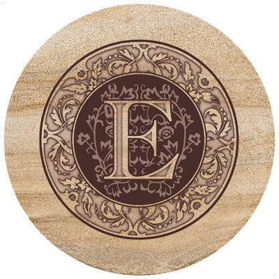 Thirstystone Monogram E Trivet