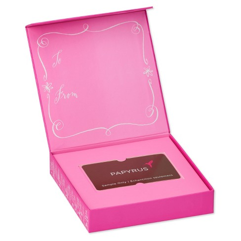 papyrus purse and shoes gift card holder box - Pink Card Holder