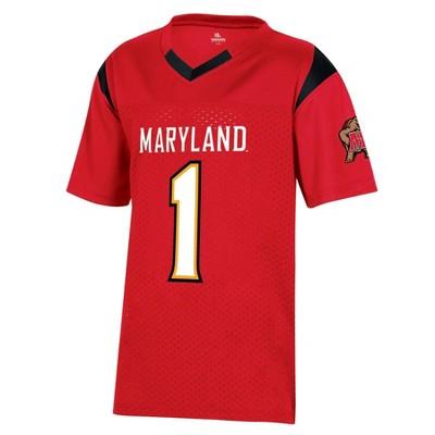 NCAA Maryland Terrapins Boys' Short Sleeve Jersey