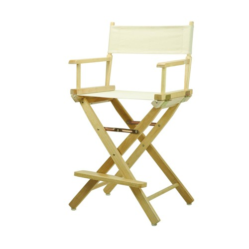 Director's Chair Counter Height Canvas - Flora Home, Wheat