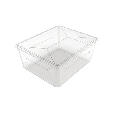 Ezy Storage 17.8L/18.8qt Karton Clear Sweater Box