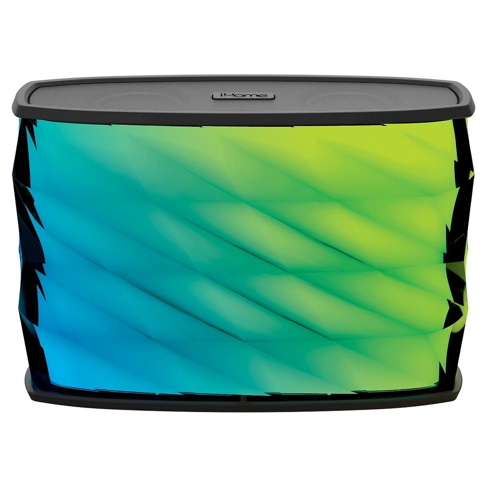 iHome Splashproof Bluetooth Speakers, Black