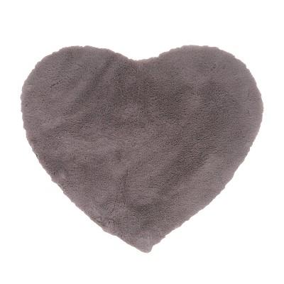 "26""x30"" Candy Heart Shaped Bath Mat - freshmint kids"