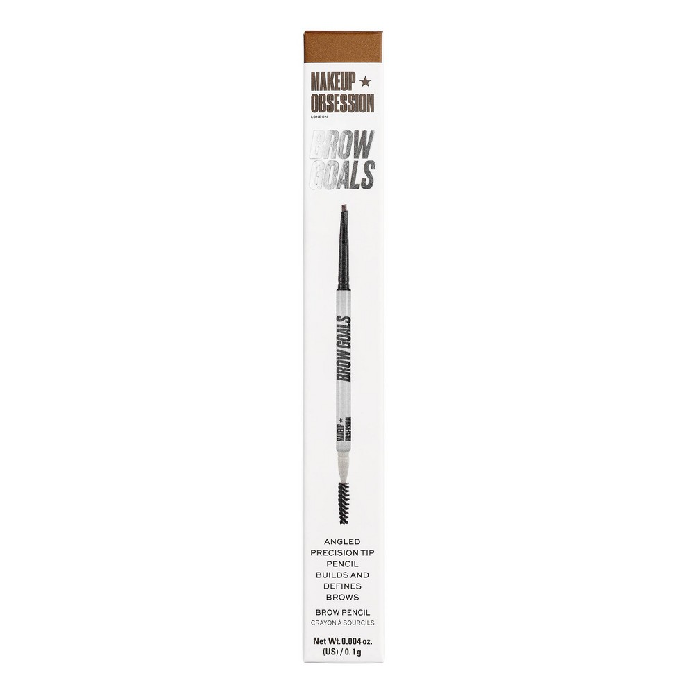 Image of Makeup Obsession Brow Goals Brow Pencil Ash Brown - 0.004oz