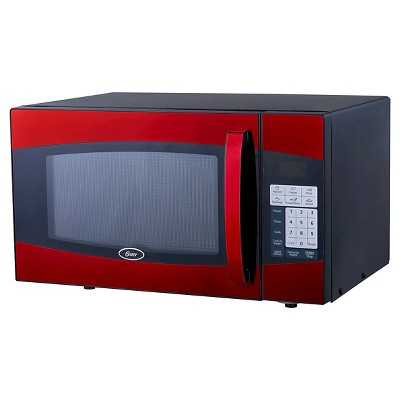 Oster 0.9 Cu. Ft. 900 Watt Microwave Oven - Red OGXE0904