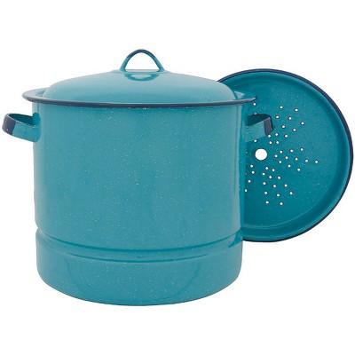 Cinsa 15qt Steamer Pot Turquoise