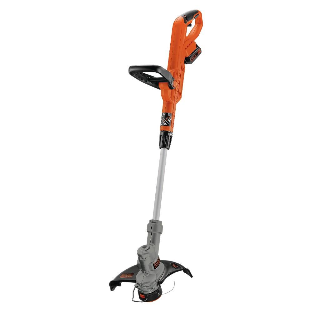 Black+decker 20V Lawn Trimmer - Orange