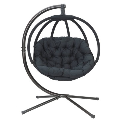 Overland Hanging Ball Chair with Stand - FlowerHouse