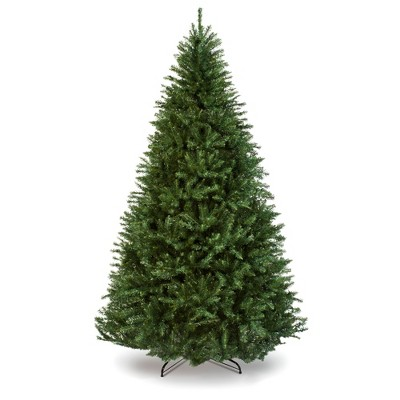 Best Choice Products Hinged Douglas Full Fir Artificial Christmas Tree Holiday Decoration w/ Foldable Metal Stand