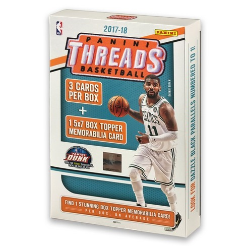 851ba6f9ff6 NBA Panini Threads Basketball Trading Card 5x7 Memo Box   Target