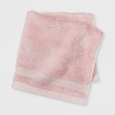 Soft Solid Washcloth Peach - Opalhouse™