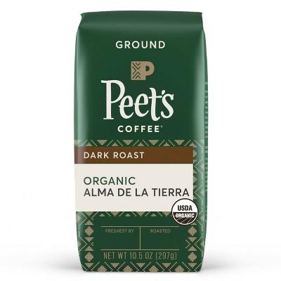 Peet's Coffee Alma De La Tierra Organic Dark Roast Ground Coffee - 10.5oz