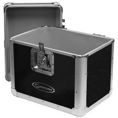 Odyssey KROM Transport Case for 70, 12 Inch Vinyl Records, Silver (3 Pack)