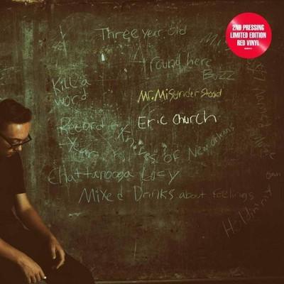 Eric Church - Mr. Misunderstood (LP) (Red) (Vinyl)