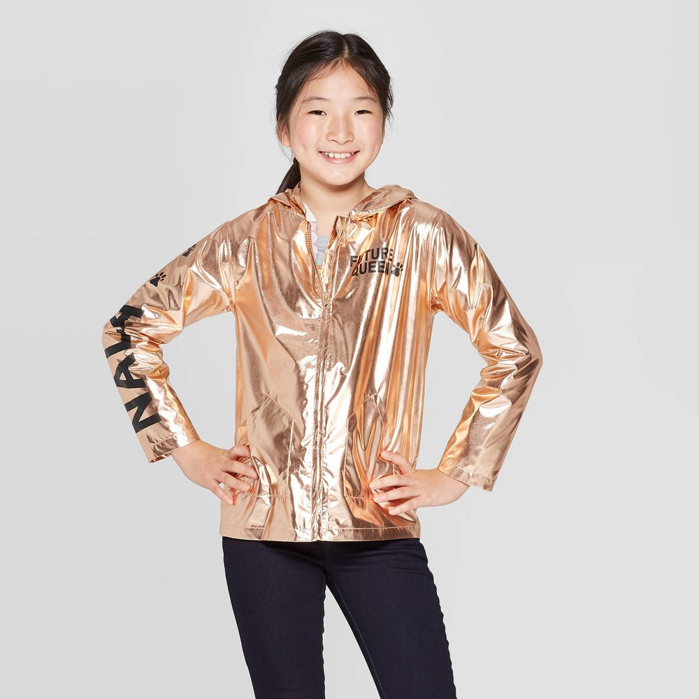 Image of Girls' The Lion King Future Queen Nala Track Jackets - Brown L Plus, Girl's, Size: Large Plus