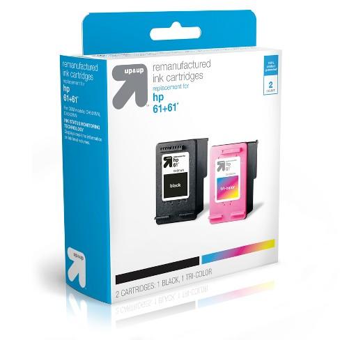 4pk Black /& Color Printer Ink Cartridge for HP 61 61 Deskjet 2510