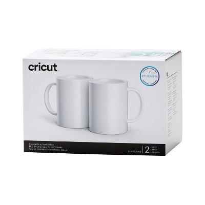 Cricut 2ct 15oz Ceramic Mugs - White