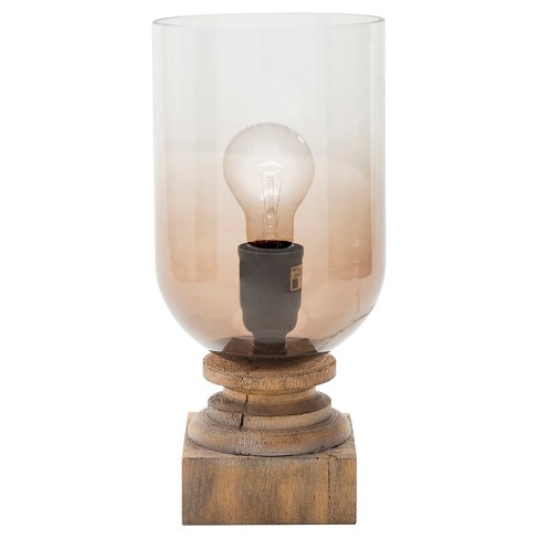 Carrick Table Lamp Brown - Surya - image 1 of 2