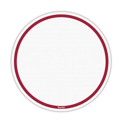 "Tovolo TrueBake 15"" Pizza Baking Mat Cayenne 13023-400"