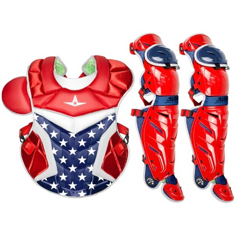 All-Star System7 Axis USA Adult Baseball Catcher's Gear - image 1 of 1