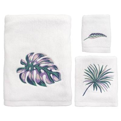 3pc Oversize Palm Bath Towel Sets - Allure Home Creation