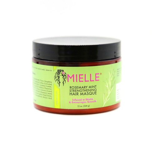 Mielle Rosemary Mint Strengthening Hair Masque - 12oz - image 1 of 3