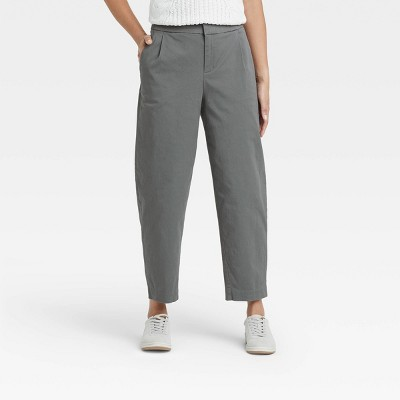 Women's High-Rise Tapered Ankle Pants - A New Day™