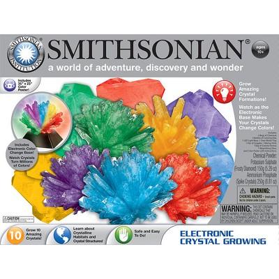 Smithsonian Electronic Crystal Growing Kit