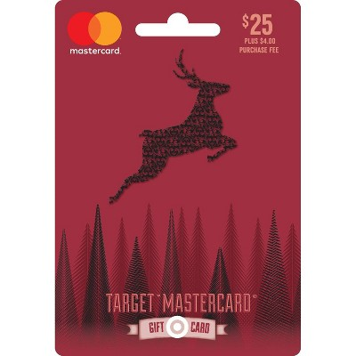 Mastercard Holiday Gift Card $25 + $4 Fee