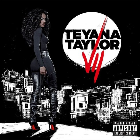 Teyana taylor - Vii [Explicit Lyrics] (CD) - image 1 of 2