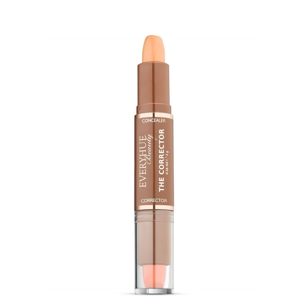 Image of EveryHue Concealer Corrector Duo Satin Medium Ginger - 0.28oz, Red