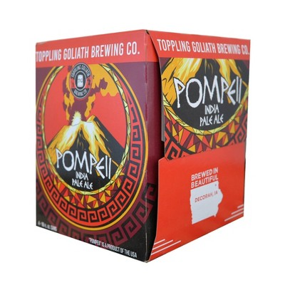 Toppling Goliath Pompeii IPA Beer - 4pk/16 fl oz Cans